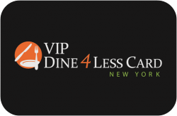 VIP Dine 4Less Card NYC