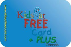 Kids Eat Free Card +PLUS Orlando