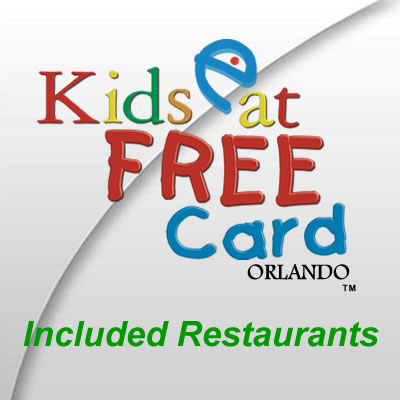 Kids Eat Free Card Orlando Restaurants