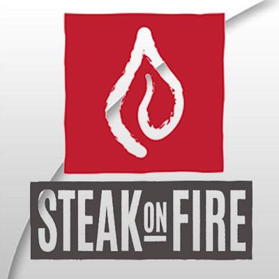 Steak on Fire